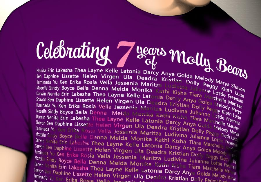 7 Years of Molly Bears Shirt